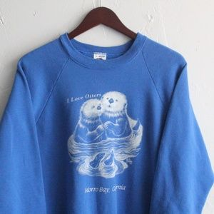 Vintage '87 Otter Morro Bay Crew Neck Pullover